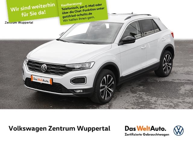 Volkswagen T-Roc 1,5 TSI United DSG NAVI LED SHZ PDC LM, Jahr 2020, Benzin