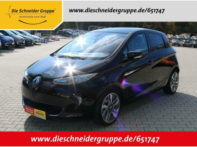 Renault ZOE Intens Batteriemiete Klima Navi PDC, Jahr 2013, Elektro