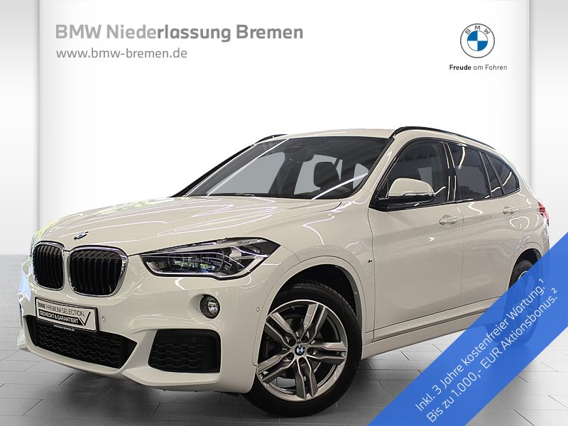 BMW X1 xDrive18d M Sportpaket LED Navi Alarm Tempomat, Jahr 2019, Diesel