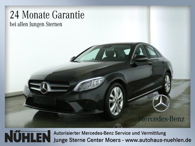 Mercedes-Benz C 180 AVANTGARDE+Automatik+LED+Navigation SHD, Jahr 2019, Benzin