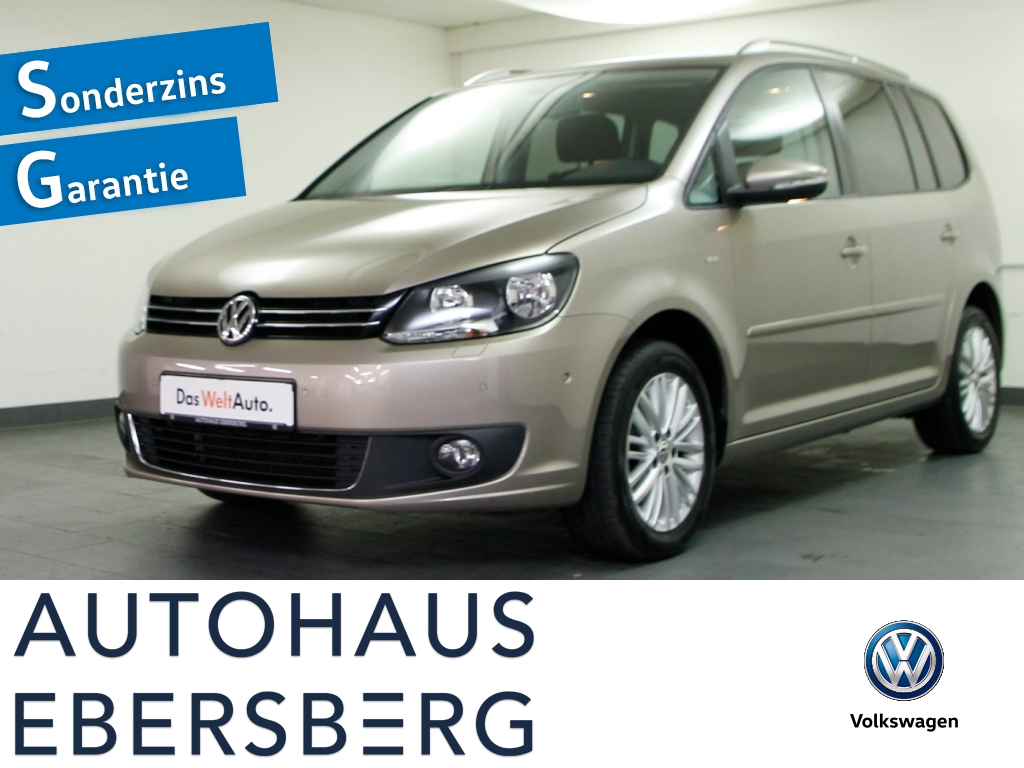 Volkswagen Touran CUP 1.4 TSI StHzg 7Sitz Navi Park-Lenk, Jahr 2014, Benzin