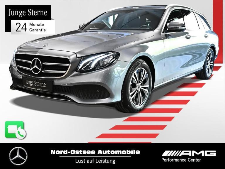Mercedes-Benz E 220 T d Avantgarde Navi AHK LED Kamera SHZ PDC, Jahr 2020, Diesel