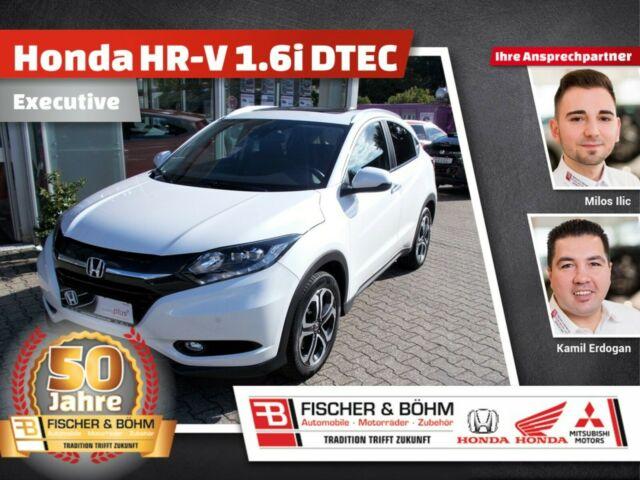 Honda HR-V 1.6-DTEC Executive mit Navi und Schiebedach, Jahr 2015, diesel