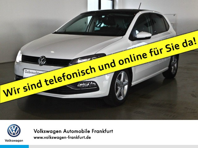 Volkswagen Polo 1.0 Sound Navi Panoramadach Klima LED-Scheinwerfer POLO 1.0 COMFO 55 M5F, Jahr 2017, Benzin