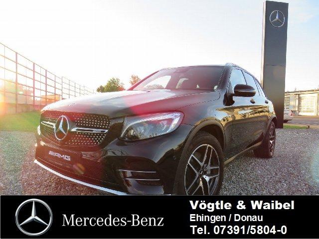 Mercedes-Benz GLC 43 AMG 4M+AHK+PANO+ILS+360°+EDW+AirBodyContr, Jahr 2017, Benzin