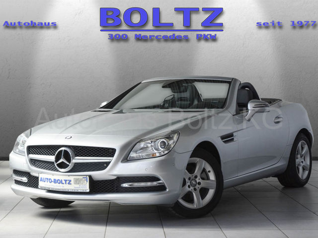 Mercedes-Benz SLK 200 BE Comand Panorama ParkAs. Sitzh. Leder, Jahr 2012, petrol