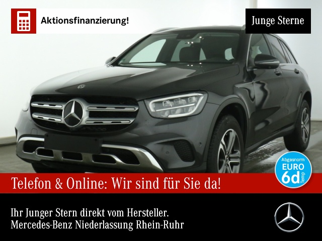 Mercedes-Benz GLC 220 d 4M 360° Distr. LED AHK Spurhalt-Ass 9G, Jahr 2020, Diesel