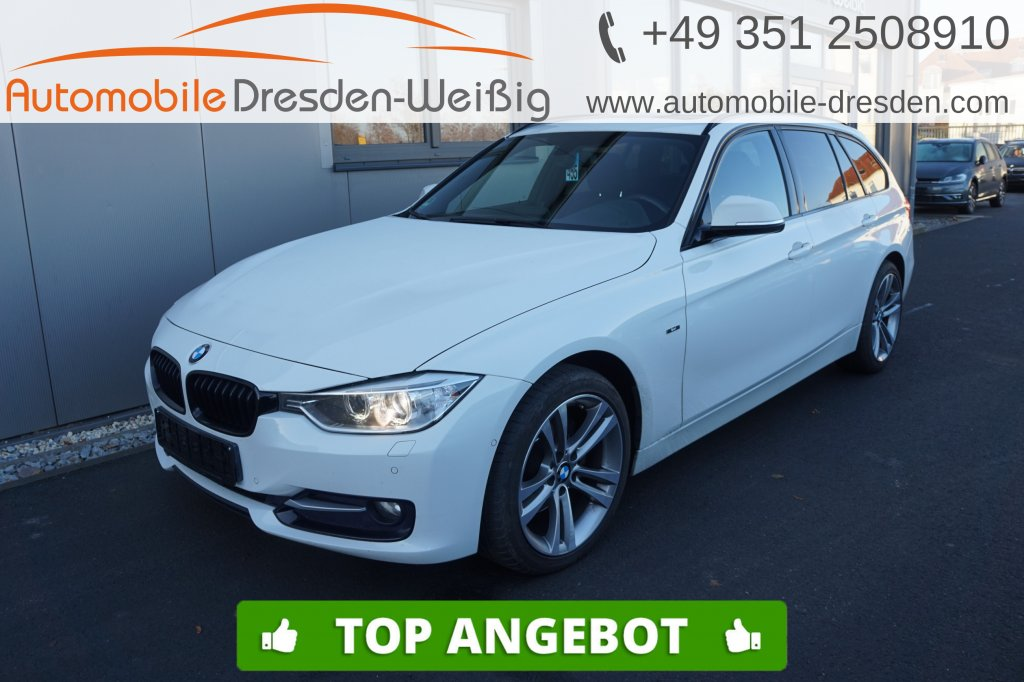 BMW 320 d Touring Sport Line*Navi*Xenon*HiFi*Pano*, Jahr 2013, Diesel