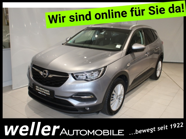 Opel Grandland X 1.2 Edition AHK Parksensoren Sitzheizung, Jahr 2017, Benzin