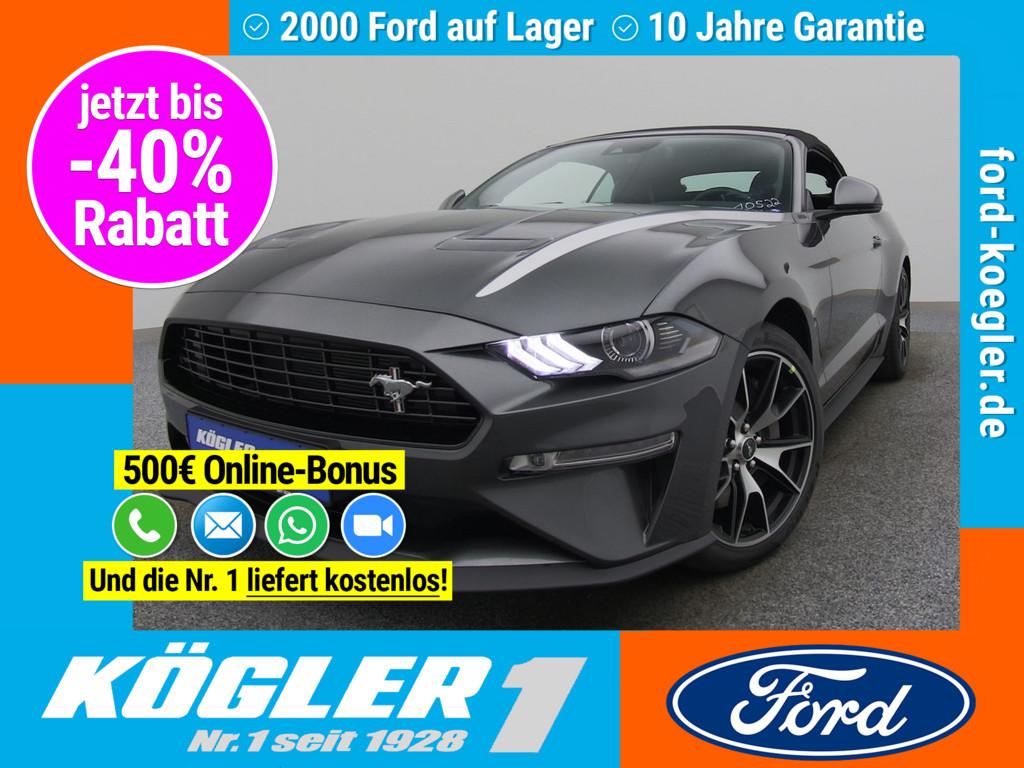 Ford Mustang Cabrio 290PS/Premium-Paket II, Jahr 2020, Benzin