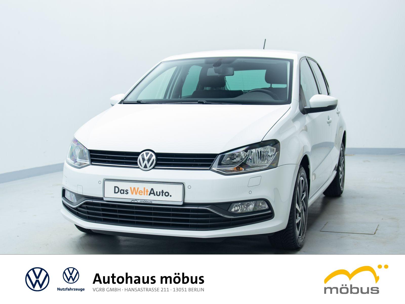 Volkswagen Polo 1.2 TSI*SOUND**KLIMA*GRA*GANZJAHRESREIFEN**, Jahr 2017, Benzin