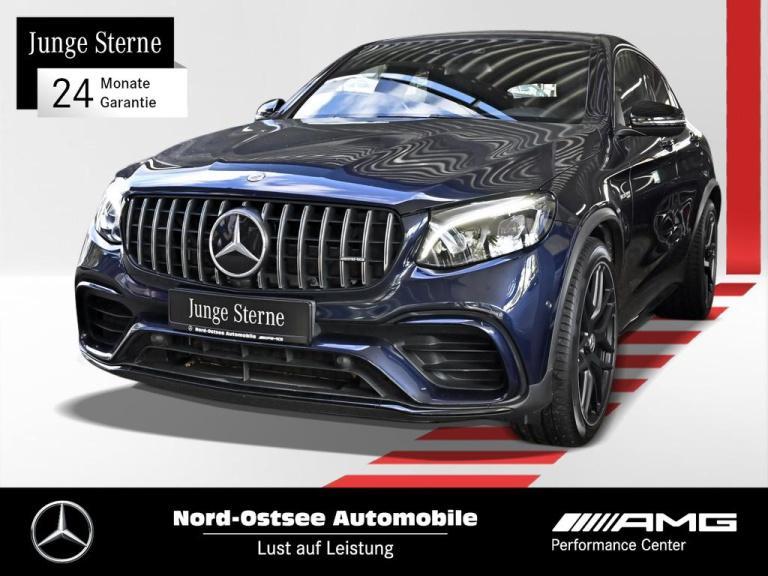 Mercedes-Benz GLC 63 S AMG 4M COMAND SD LED Night SHZ Keyless, Jahr 2018, Benzin