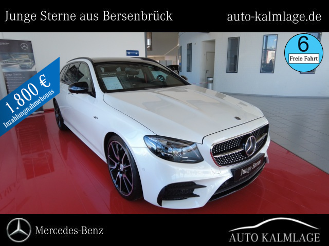 Mercedes-Benz E 53T AMG 4M Drive-Pilot +PANORAMA+AMG-Airmatic, Jahr 2019, Benzin