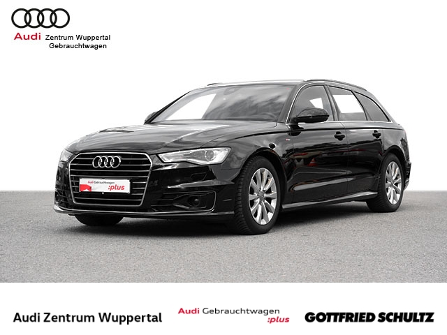 Audi A6 Avant 2.0TDI S-LINE ACC HUD LEDER KAMERA SHZ NAV MUFU GRA PDC VO HI BT 17ZOLL, Jahr 2015, Diesel