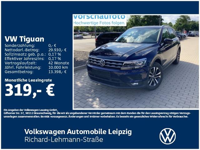 """Volkswagen Tiguan """"IQ.DRIVE"""" 1.5 TSI OPF ACT *AHK*DAB*, Jahr 2020, petrol"""