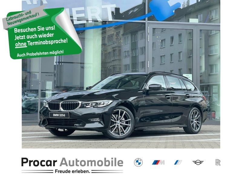 BMW 320d A Sport Line DAB LED Tempomat Klimaaut., Jahr 2021, Diesel