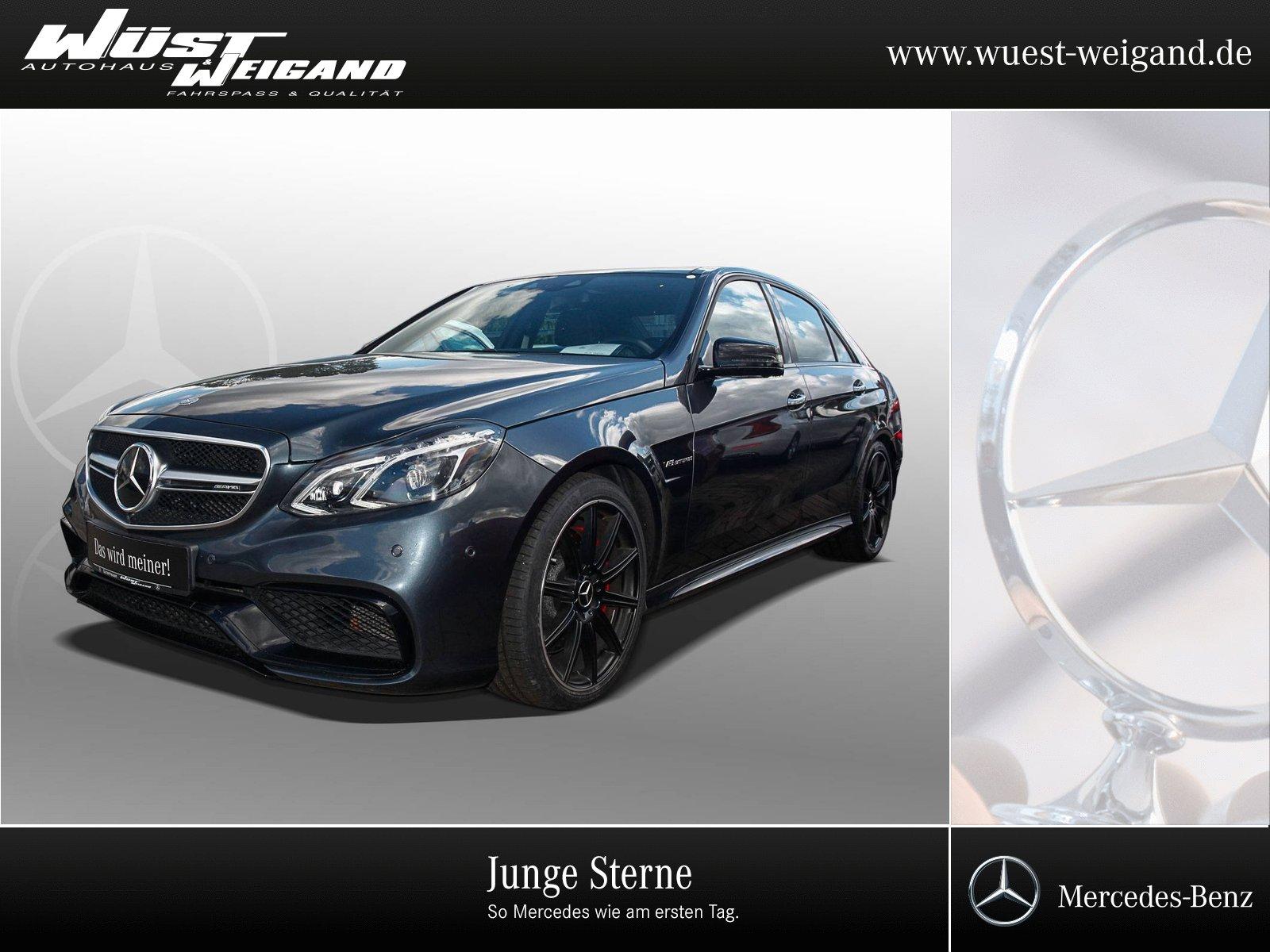 "Mercedes-Benz E 63 AMG Comand+ILS+PTS+Pano.Dach+Burmester+19"", Jahr 2015, petrol"