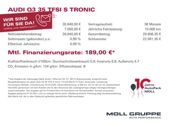 Audi Q3 1.4 TFSI basis ALU KLIMA, Jahr 2017, Benzin