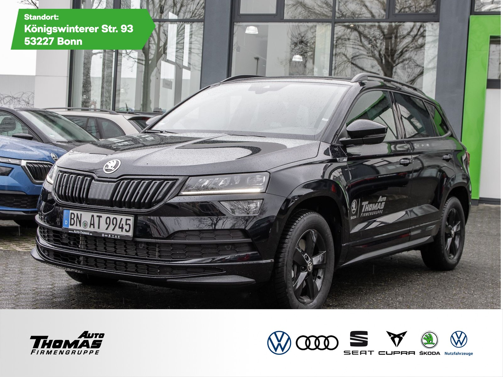 Skoda Karoq Sportline 2.0 TDI DSG 4x4 *ACC*AHK*NAVI*, Jahr 2020, Diesel