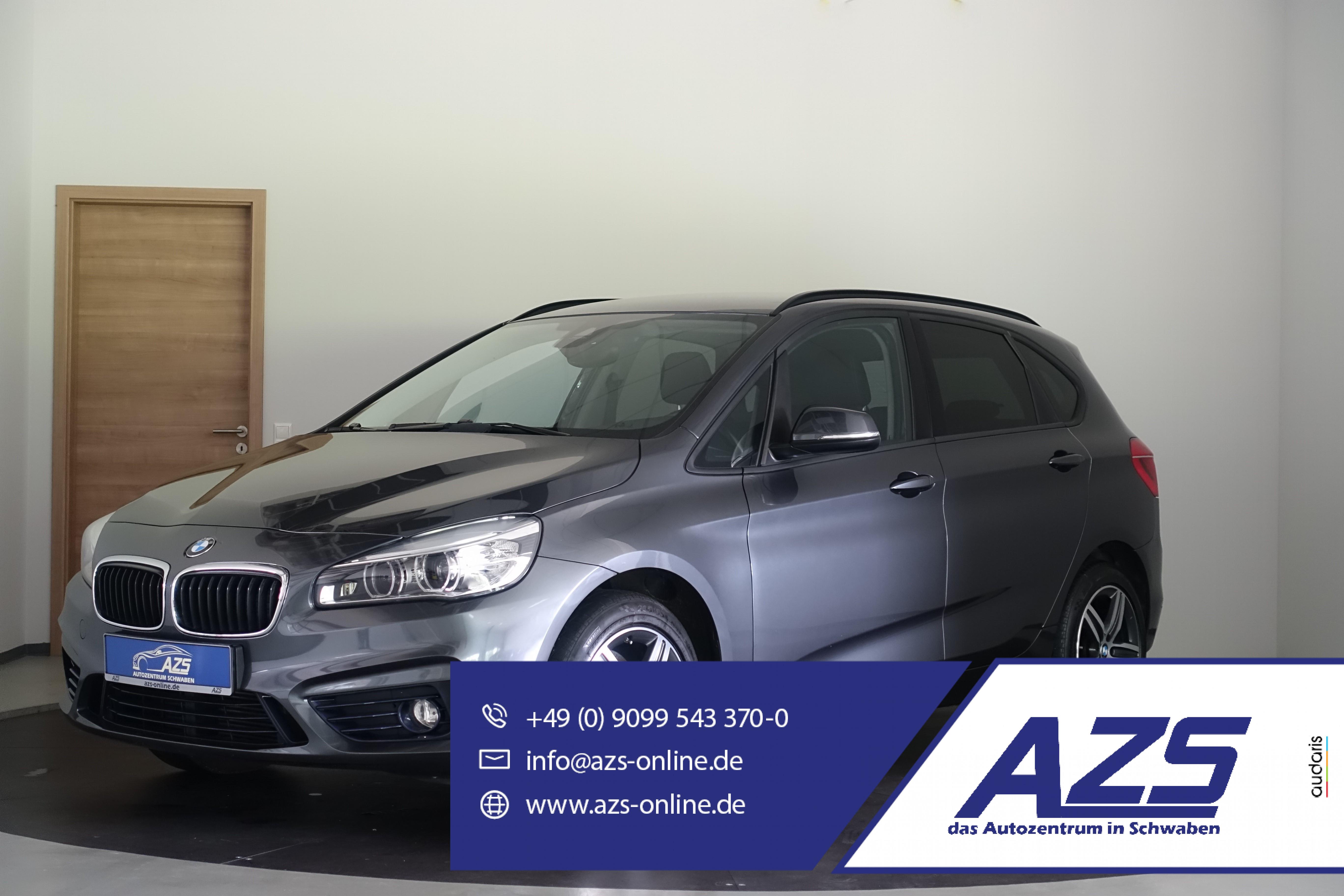 BMW 218d Active Tourer   Navi   LED   SHZ   PDC, Jahr 2015, Diesel