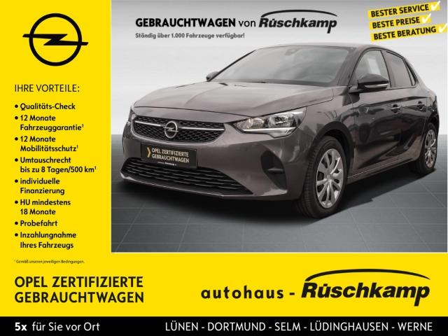 Opel Corsa F Edition 1.2 DAB Rückfahrkam Touch Winterpaket EU6d, Jahr 2020, Benzin
