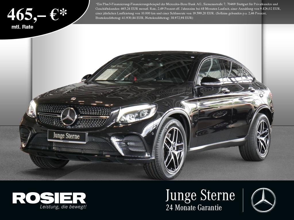 Mercedes-Benz GLC 300 4M Coupé AMG Line, Jahr 2017, Benzin