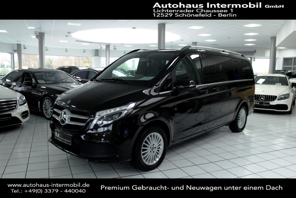 Mercedes-Benz V 300 d AVANTGARDE EDITION 4MATIC lang*LED*, Jahr 2019, Diesel