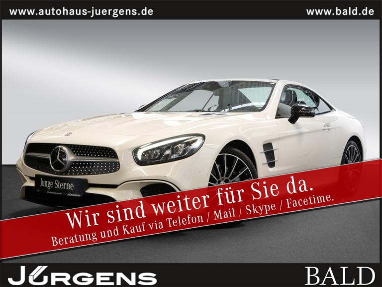 Mercedes-Benz SL 500 AMG-Sport/Comand/Pano/Keyl/HarmanK/19', Jahr 2019, Benzin