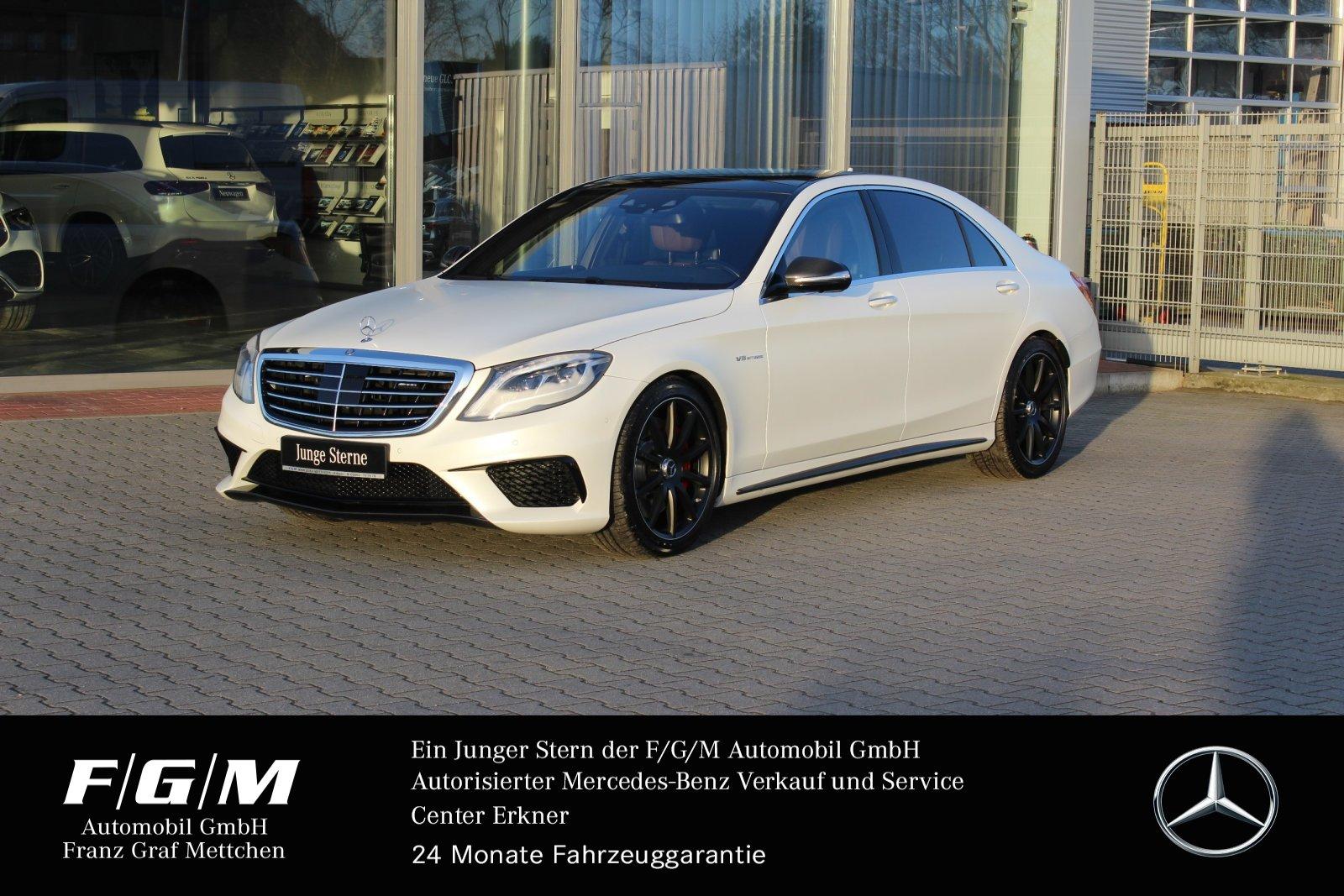 Mercedes-Benz S 63 4M AMG lg First-ClassFond/Fondentertainment, Jahr 2016, Benzin