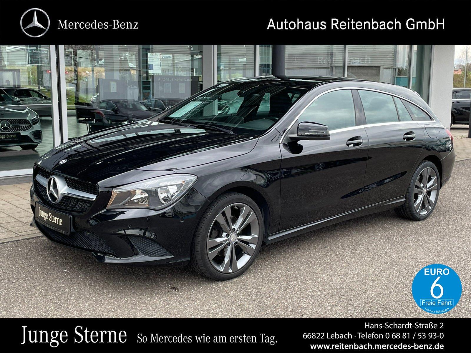 Mercedes-Benz CLA 180 SB URBAN+NAVI+KLIMA +PTS+AMBIENTB R-CD, Jahr 2015, Benzin