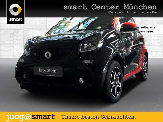 smart fortwo EQ 60kWed passion cool&Audio SHZ Pano LED, Jahr 2019, Elektro