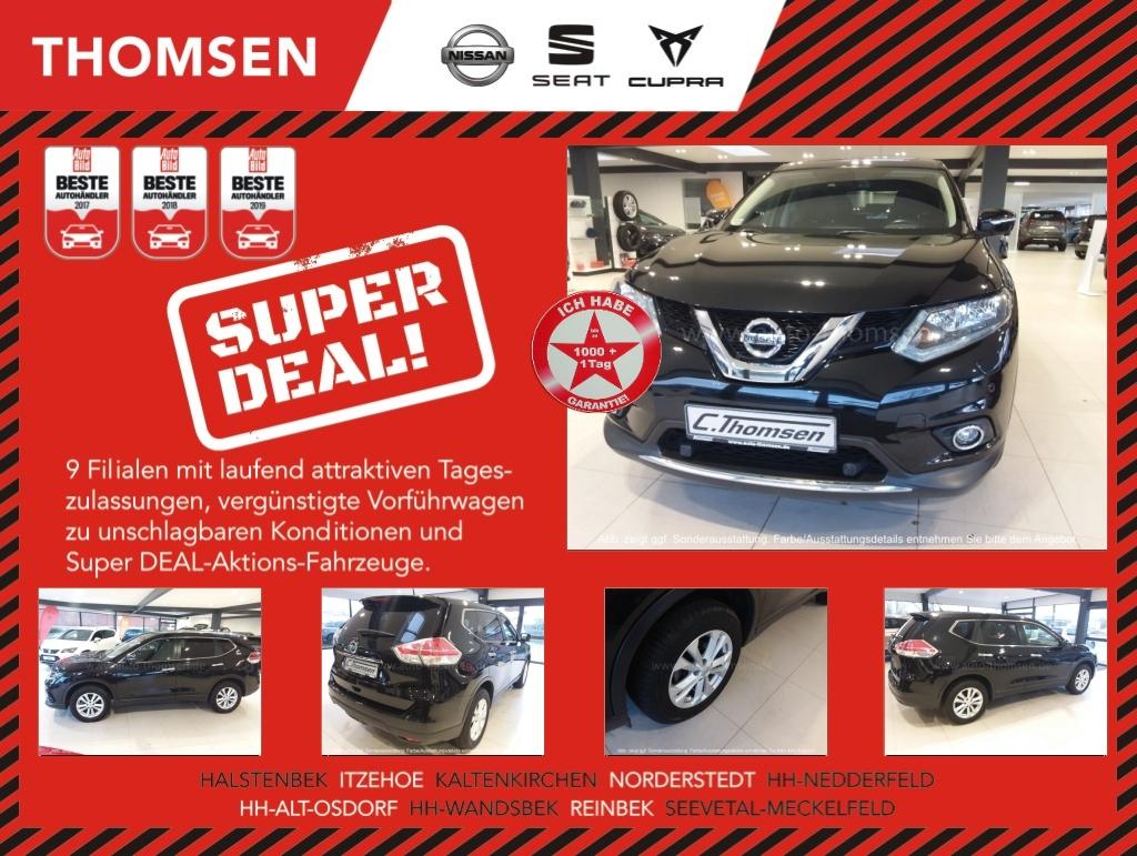 Nissan X-Trail 1.6 dci Navi Panoramadach Kamera Tempom., Jahr 2015, Diesel