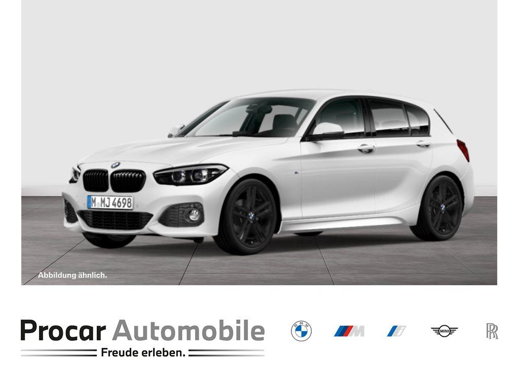 BMW 118i 5-Türer Aut M-Sport Nav LED Shz PDC+RFK 18, Jahr 2018, Benzin