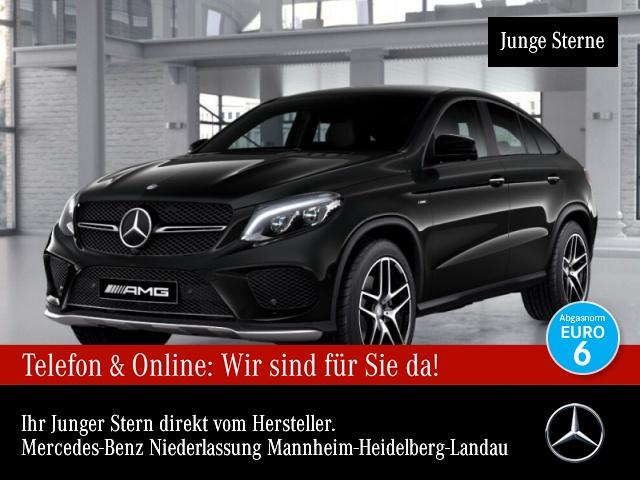 Mercedes-Benz GLE 450 AMG Cp. 4M AMG 360° Airmat Harman Distr+, Jahr 2016, Benzin