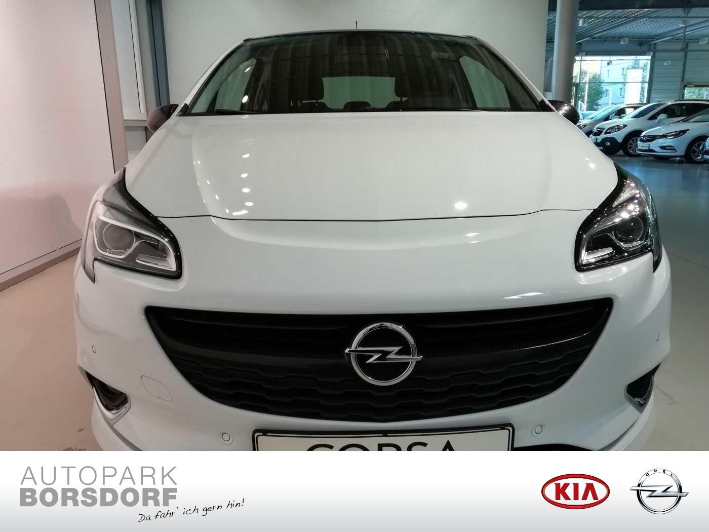 Opel Corsa E 1.4 Turbo Color Edition ecoFlex (EURO 6d-TEMP), Jahr 2019, Benzin