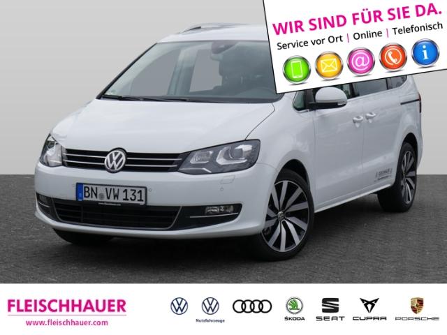 Volkswagen Sharan Highline 2.0 TDI EU6d-T 7-Sitzer DSG NAVI ACC, Jahr 2020, Diesel
