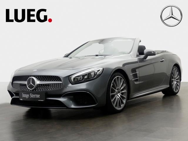 Mercedes-Benz SL 500 AMG SKYControl KeylGo ABC, Jahr 2018, petrol