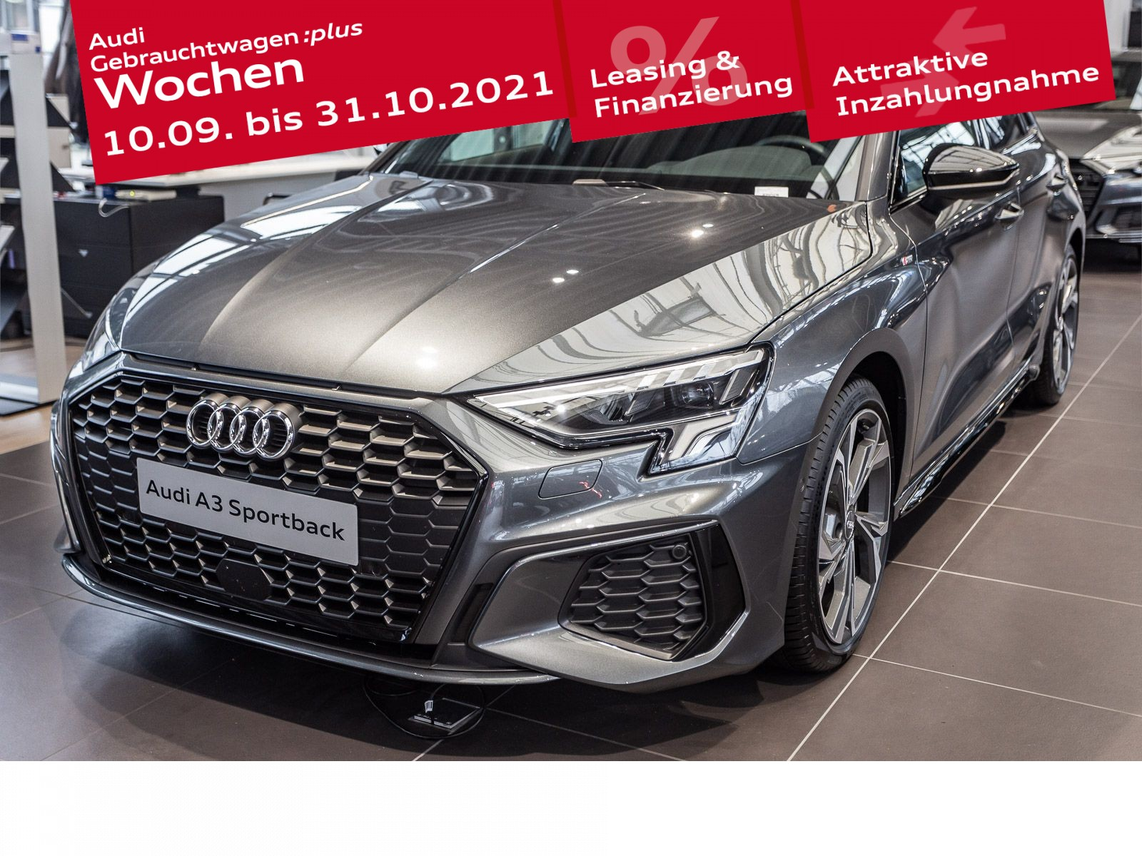 Audi A3 Sportback S line 35 TDI S tronic, Jahr 2021, Diesel