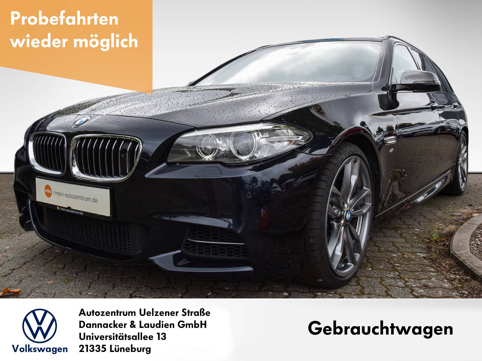 BMW M550d Touring xDrive Alu Bi-Xenon Head-Up Night-Vision Navi, Jahr 2016, Diesel
