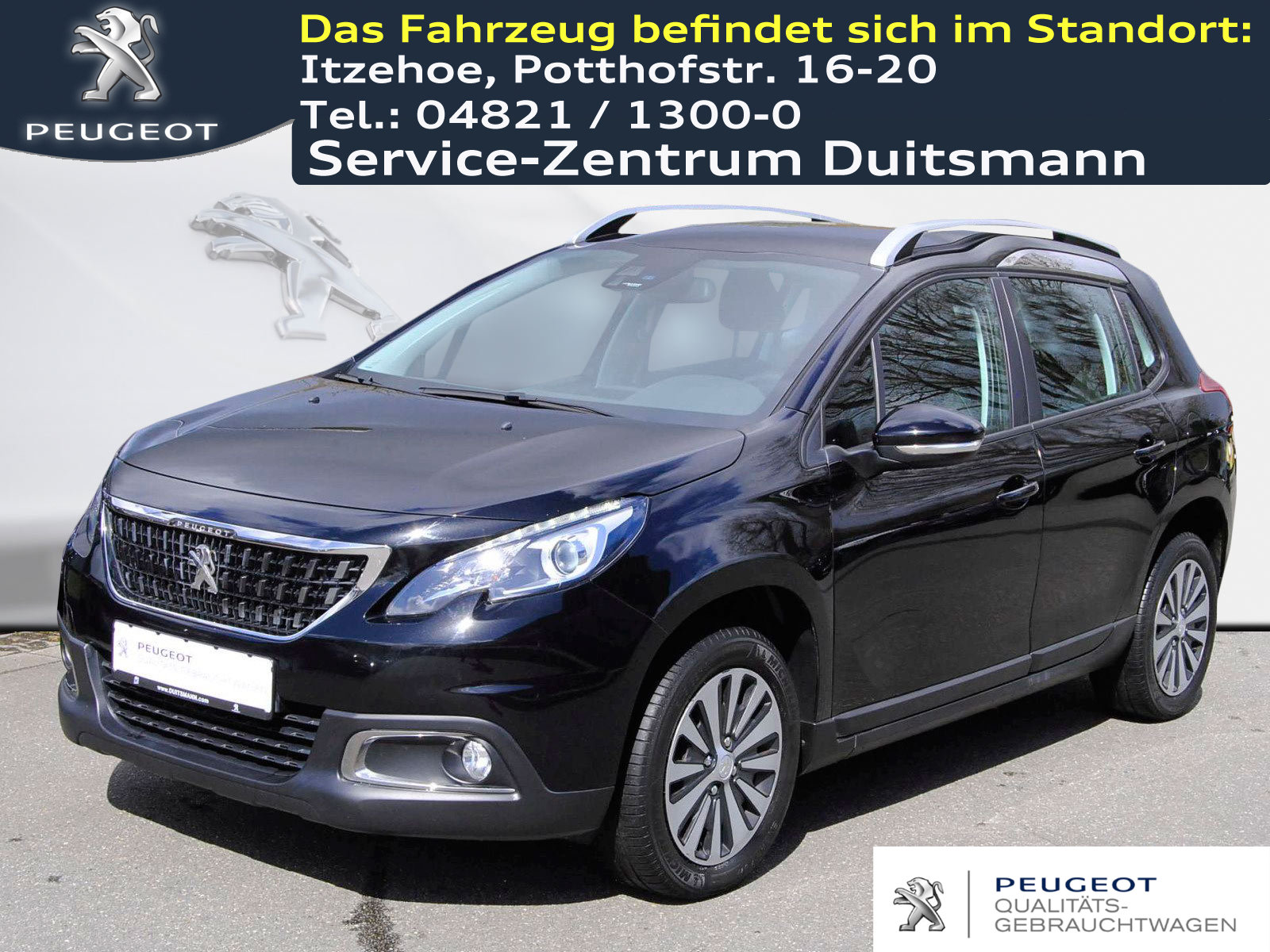 Peugeot 2008 BlueHDi 100 STOP & START Active, Jahr 2017, Diesel
