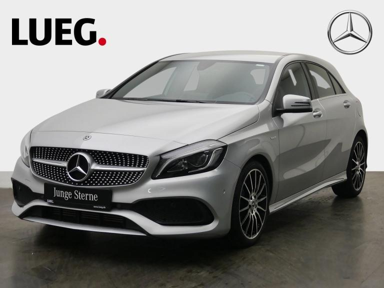 Mercedes-Benz A 200 AMG+Navi+LED-HP+PEAKEdition+SHZ+ParkPilot+, Jahr 2018, Benzin