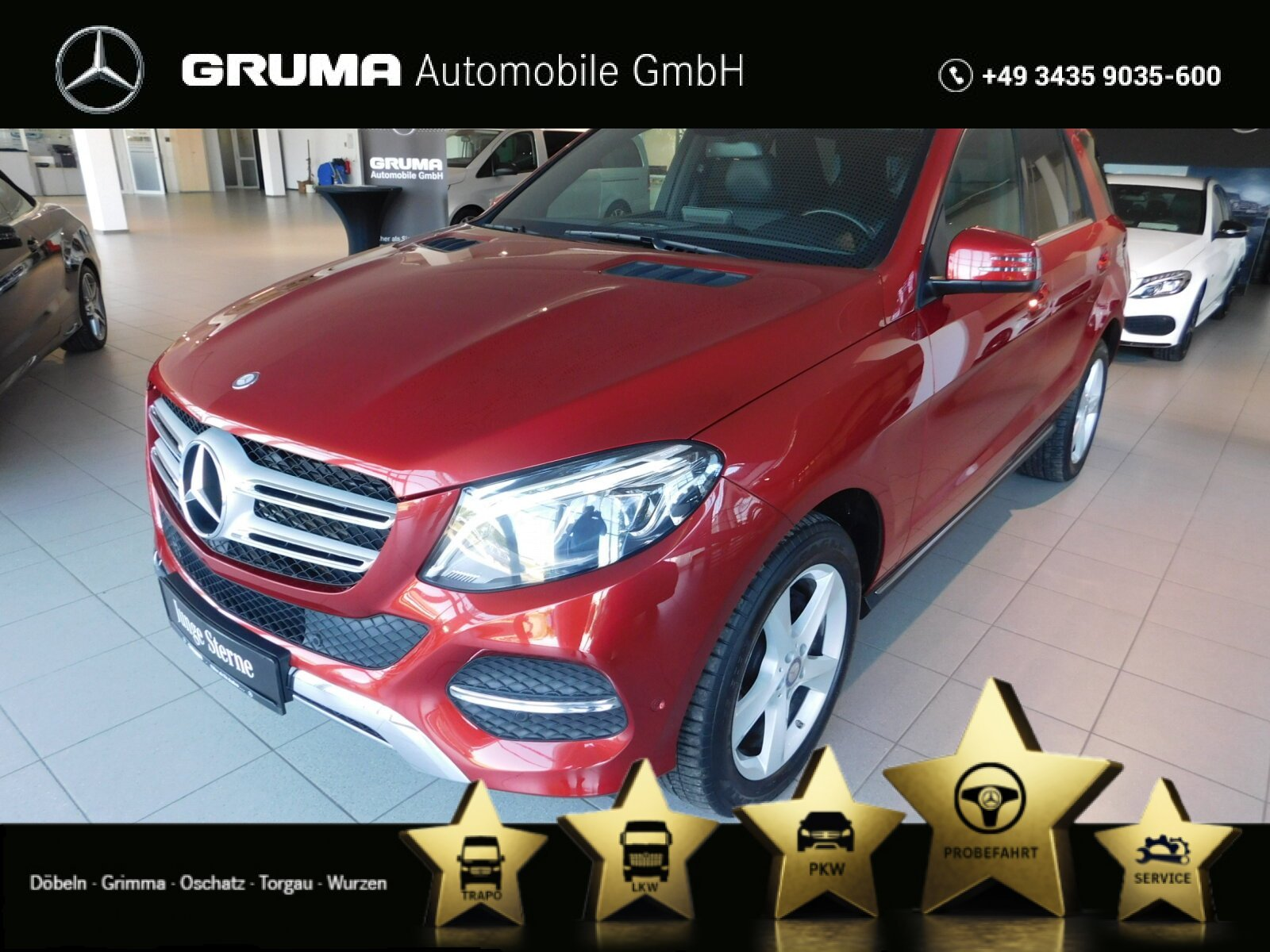 Mercedes-Benz GLE 250 d 4M 9G NAVI+EASYPACK+LED+4xSITZHEIZUNG, Jahr 2016, Diesel