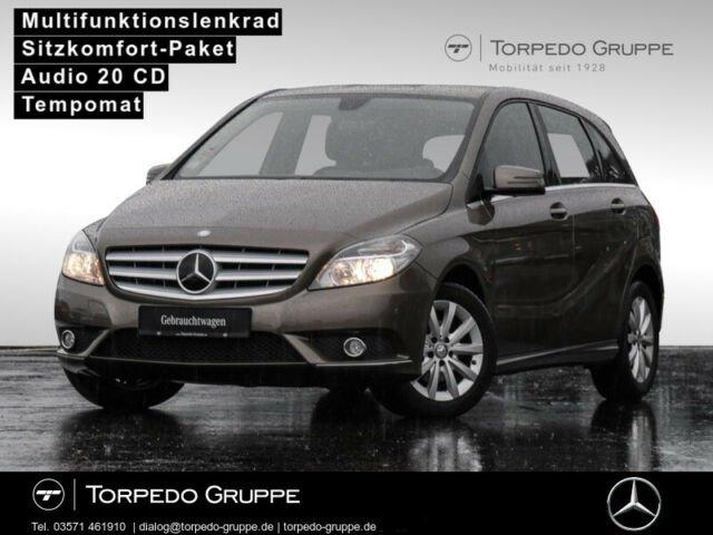 Mercedes-Benz B 180 BE KLIMA+SHZ+TEMPOMAT+LM-RÄDER+CD+METALLIC, Jahr 2013, Benzin