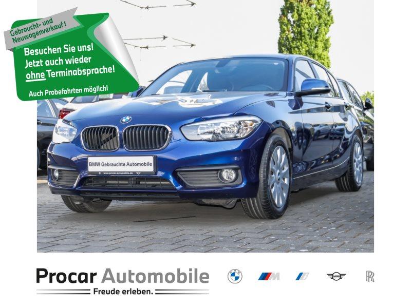 BMW 116d 5-Türer EffDyn Edition Advantage Navi PDC, Jahr 2017, Diesel