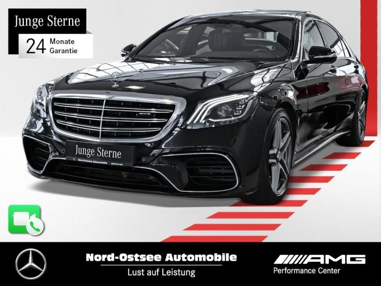 Mercedes-Benz AMG S 63 4M+ lang Comand Burmester HUD BRABUS, Jahr 2018, Benzin