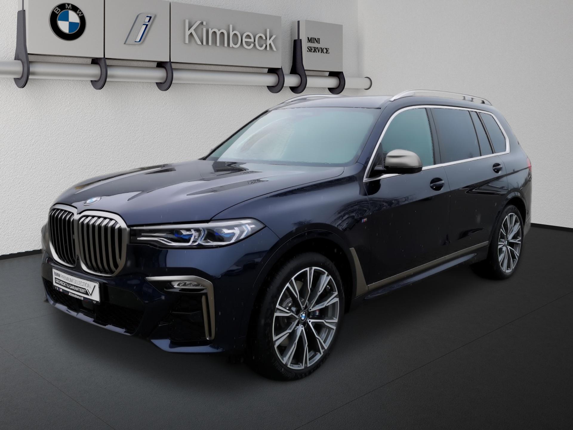 BMW X7 M50d 6 Sitzer VOLLAUSSTATTUNG NP147.400,-, Jahr 2020, Diesel