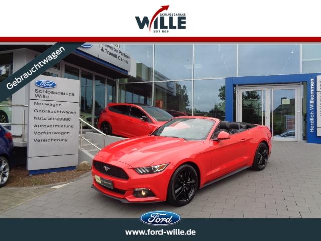 Ford Mustang Convertible Premium Paket Topzustand!, Jahr 2017, Benzin