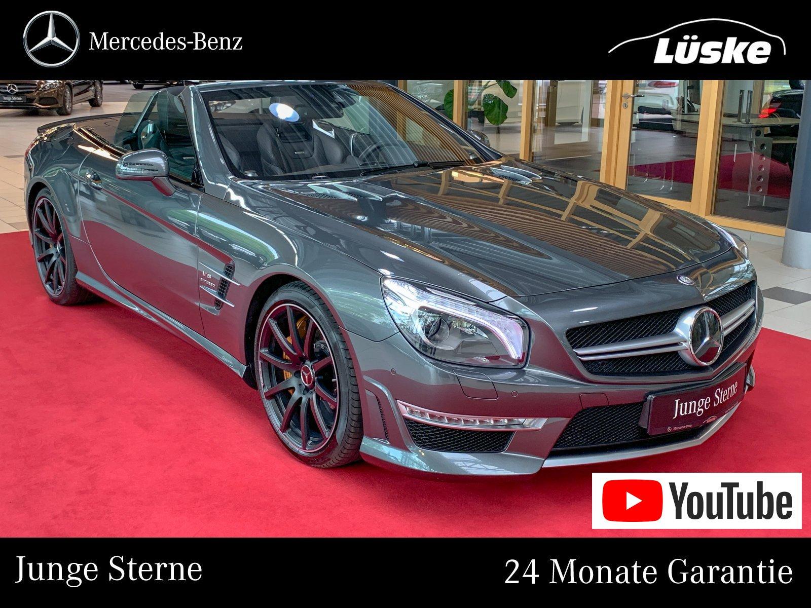 Mercedes-Benz SL 63 AMG Keramik BeoSound DriverŽs Pack Massage, Jahr 2014, petrol