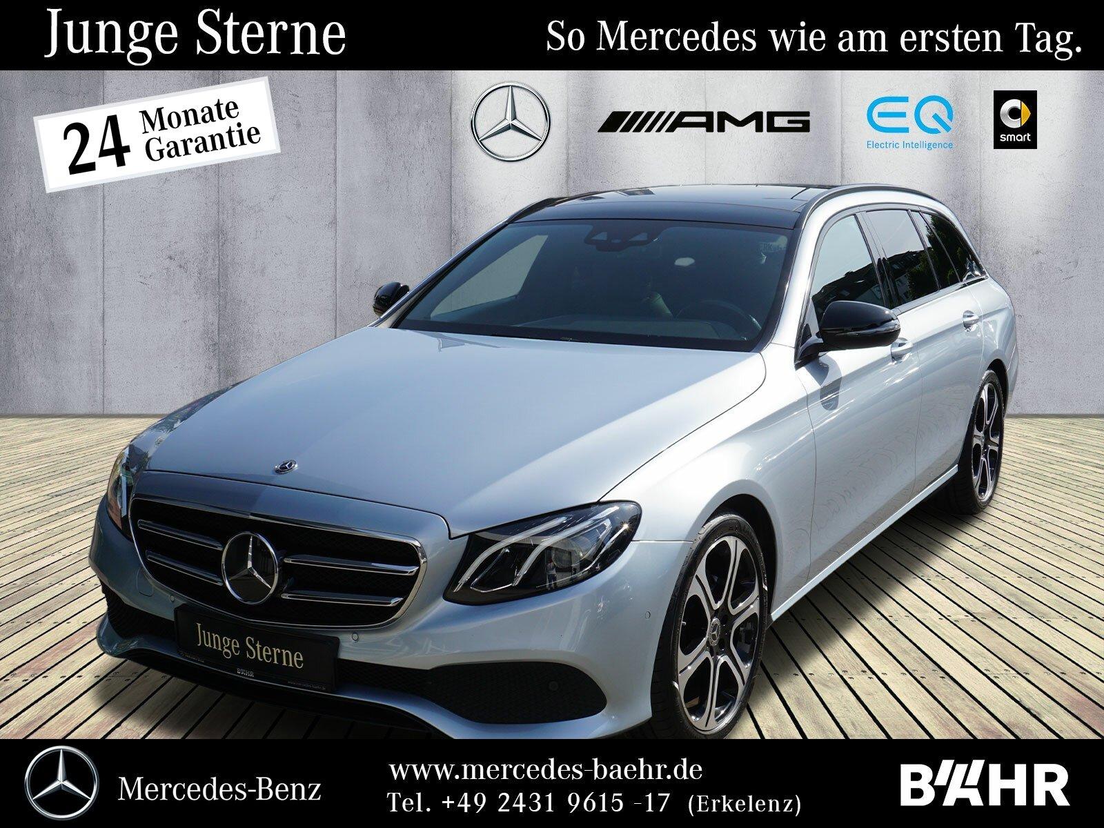 "Mercedes-Benz E 220 d T Avantgarde+Night/Navi/LED/Pano/RFK/19"", Jahr 2017, diesel"