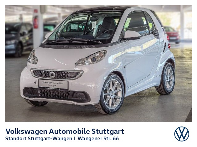 smart ForTwo Smart coupe mhd passion Klima Pano, Jahr 2014, Benzin